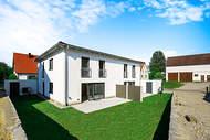Verkauft: Neue Doppelhaushälfte mit Süd-/West-Garten – Eismannsberg/Ried 01