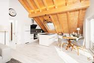 Verkauft: Dachgeschosswohnung mit atemberaubenden Deckenhöhen und Zugspitzblick – Weilheim 01