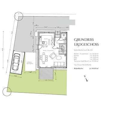 Grundriss Erdgeschoss DHH 1