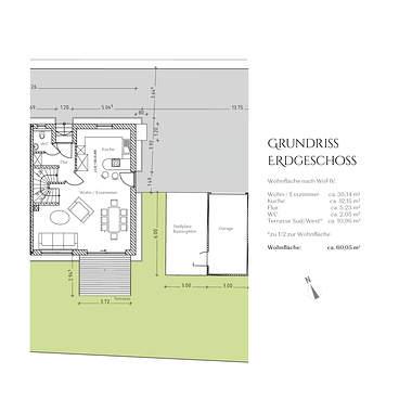 Grundriss Erdgeschoss DHH 2