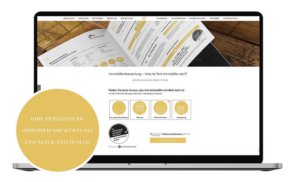 Sofort-Immobilienbewertung Online