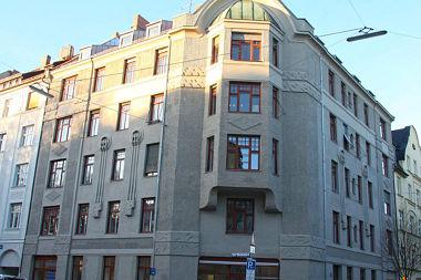 Glockenbachviertel: Mietshaus Jahnstr. 52
