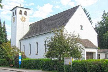 Neubiberg: Pfarrkirche Hauptstr. 36