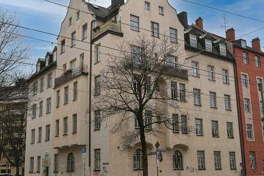 Obergiesing: Eckhaus Brecherspitzstr. 2