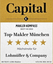 L&C Immobilien München Top-Makler 2021 bei Capital